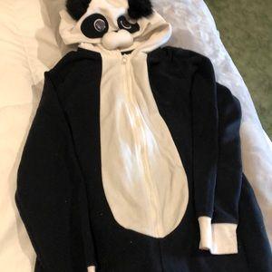 Xhilaration panda onesie size small